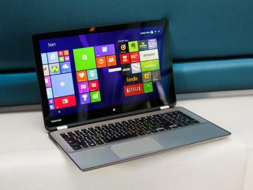 Toshiba ra mắt laptop lai Satellite Radius thiết kế y hệt Lenovo Yoga - 1