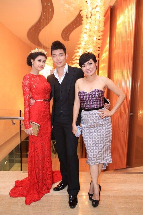 Nathan Lee, Trương Quỳnh Anh, Uyên Linh rạng rỡ dự tiệc - 17