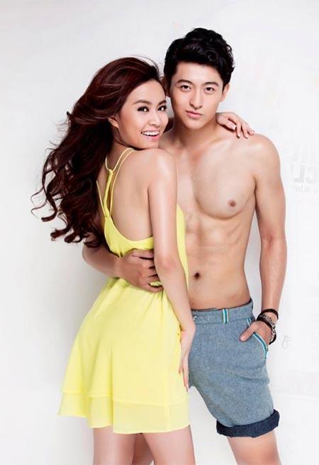 Hoàng Thùy Linh sexy bên bạn trai tin đồn - 6