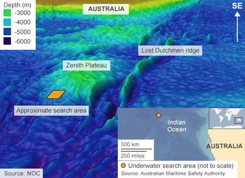 Tín hiệu thu được của hộp đen MH370 là giả?-3