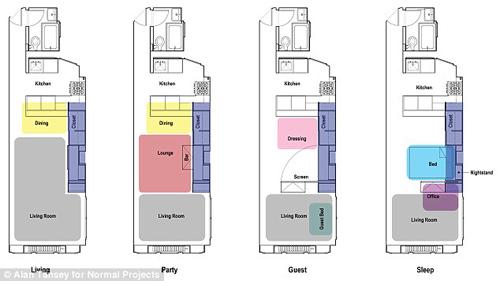 Hoàn thiện nội thất nhà 41m2 với 980 triệu đồng-6