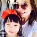 Làng sao - Ngỡ ngàng vẻ thiếu nữ của con gái Triệu Vy