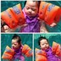 Làng sao - Đoan Trang cho con gái 2 tháng tuổi đi bơi