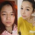 Làm đẹp - Cô gái xấu thành xinh sau 5 phút make-up