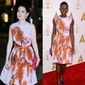 Thời trang - Diễn viên Kim Thoa đụng váy hiệu với Lupita Nyong'o