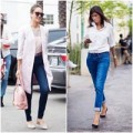 Thời trang - 7 bí quyết diện quần jeans thanh lịch nơi công sở