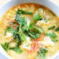 Bếp Eva - Canh cà chua trứng thanh nhiệt, giải nắng nóng