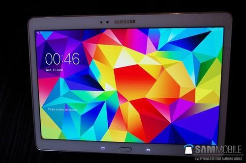 lo anh thuc te tablet galaxy tab s 10.5 truoc ngay ra mat - 1