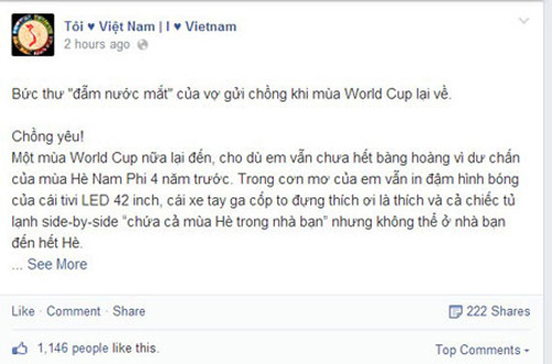 quy dinh cam vo mua world cup - 1
