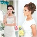 Thời trang - 3 kiểu tóc đẹp - ấn tượng cho cô dâu mùa hè