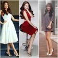 Thời trang - Giày ánh kim tiếp tục khiến sao Việt mê mẩn