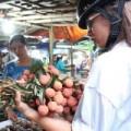 Mua sắm - Giá cả - Vải thiều 20.000 đồng/kg bán chạy tại Sài Gòn
