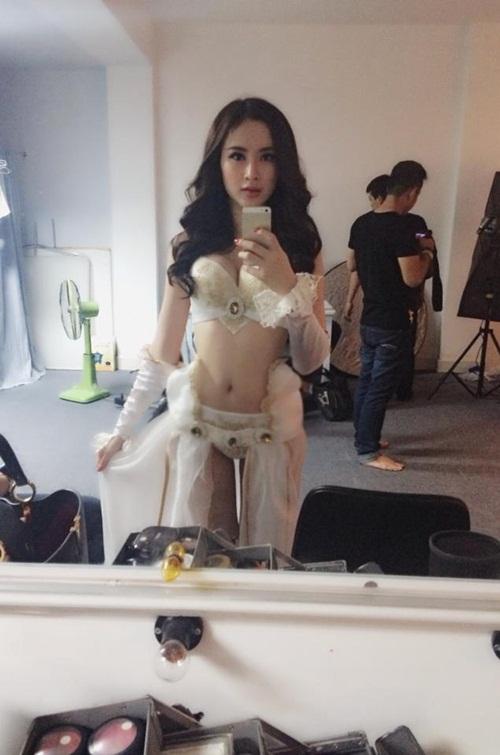 angela phuong trinh khoe vong mot nong bong - 7