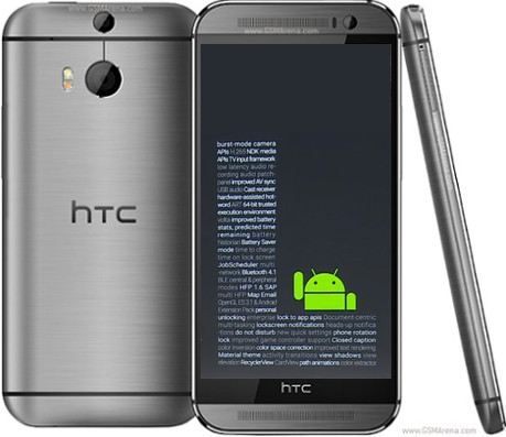 htc som cap nhat android l cho dong smartphone one - 1
