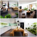 Nhà đẹp - Nhà 255m2 kiểu Nhật tuyệt đẹp ở Gò Vấp