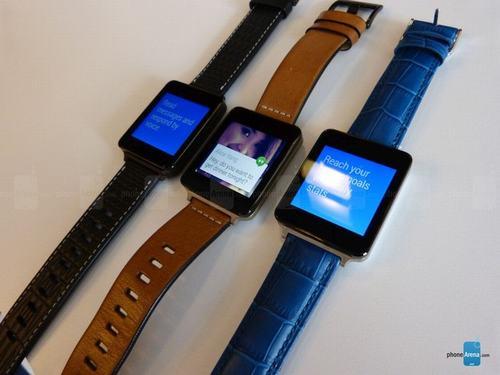 can canh bo doi smartwatch samsung gear live va lg g watch - 3