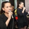 Làng sao - Phi Nhung mặt mộc giản dị tập hát