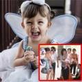 Làng sao - Hồng Nhung đưa hai con song sinh đi tập hát
