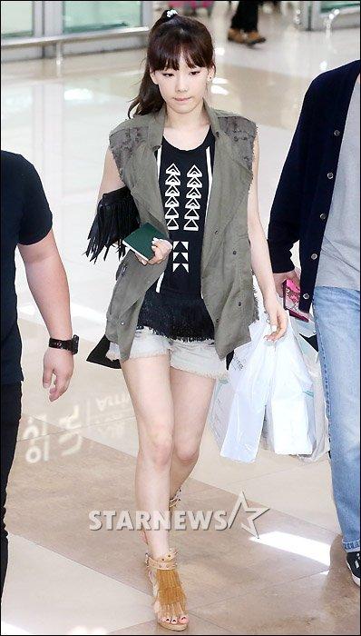taeyeon (snsd) cuoi tuoi hon sau scandal - 1