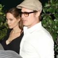Làng sao - Angelina Jolie lạnh nhạt đi ăn cùng Brad Pitt