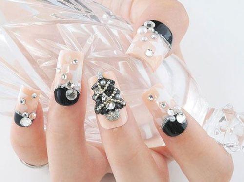 Mãn nhãn ngắm những mẫu nail 3D rực rỡ ngày hè-8