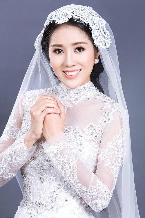 """Lê Phương mặc áo dài cưới """"không đụng hàng""""-9"""