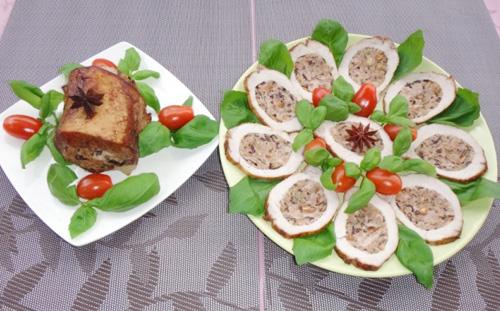 Thịt thăn lợn nhồi nấm hương đầy hấp dẫn - 10
