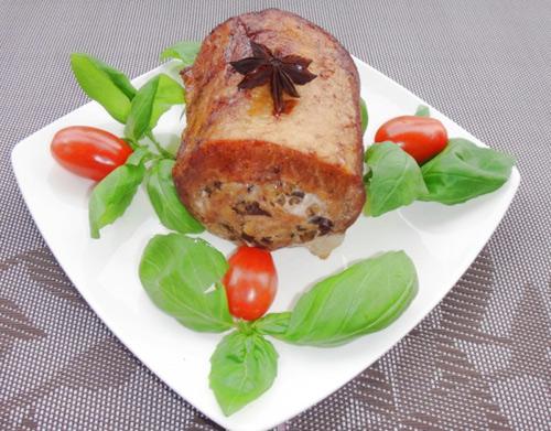 Thịt thăn lợn nhồi nấm hương đầy hấp dẫn - 7