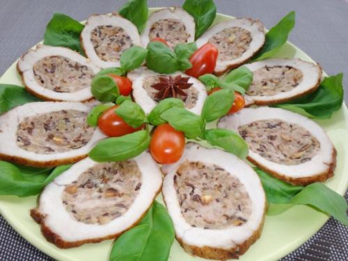 Thịt thăn lợn nhồi nấm hương đầy hấp dẫn - 8
