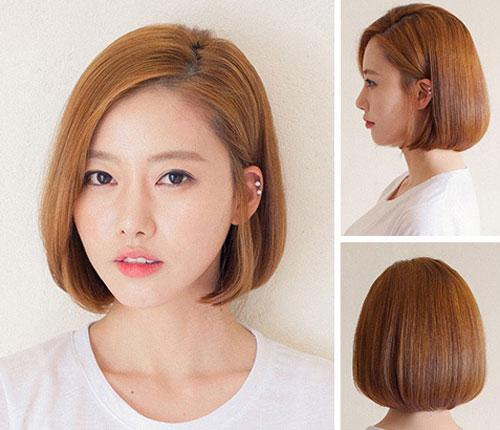 Các kiểu tóc ngắn ép phồng nên thử trong hè này-4
