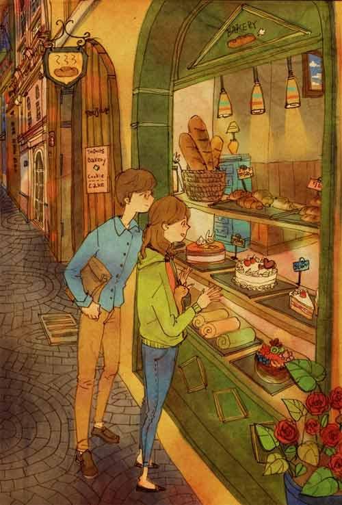Bộ tranh đáng yêu về cuộc sống vợ chồng hạnh phúc-12