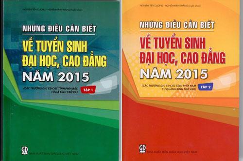 hom nay, phat hanh 'nhung dieu can biet ve tuyen sinh dh, cd' - 1