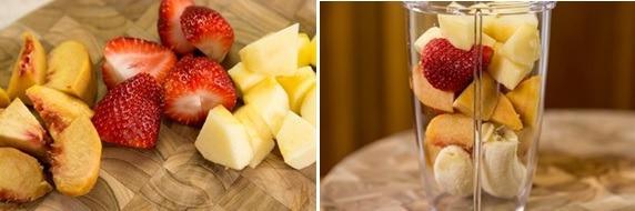 Sinh tố chuối dâu bổ dưỡng - 2