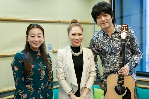 Mỹ Tâm dạy nhảy cho học sinh Nhật Bản-3