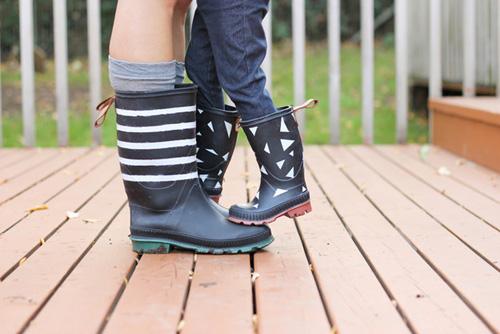 Những mẹo thời trang cần biết trong ngày mưa-9