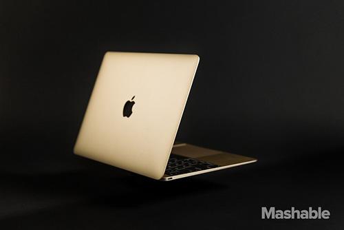 can canh ve dep me hoac cua macbook retina gold - 1
