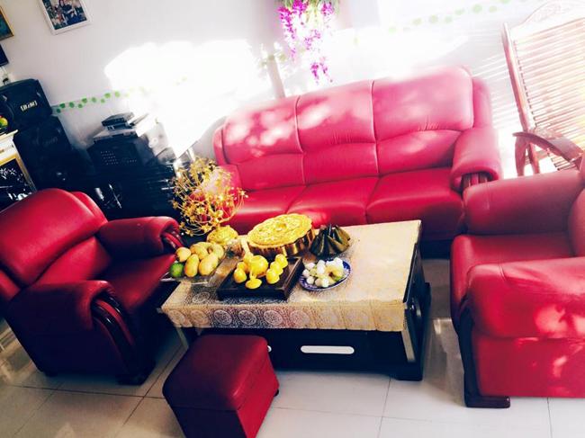 Phòng khách ấm cúng của gia đình