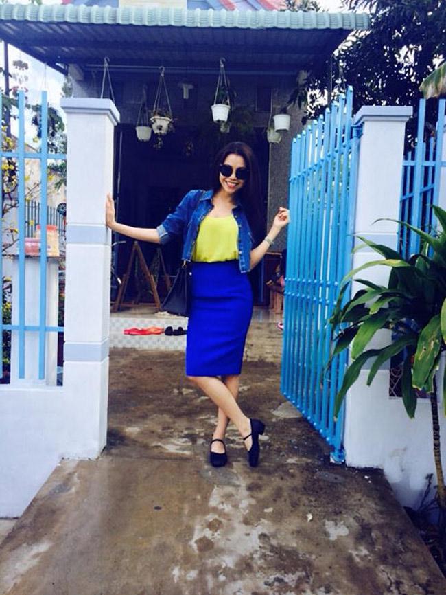 Trà Ngọc Hằng là một trong những cô gái gốc Miên nổi tiếng trong giới showbiz Việt.