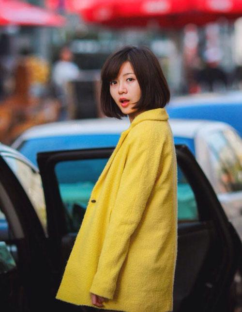 'hot girl mu' xinh ngat ngay gay 'bao' cong dong mang - 15