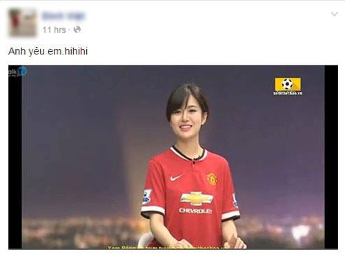 'hot girl mu' xinh ngat ngay gay 'bao' cong dong mang - 3