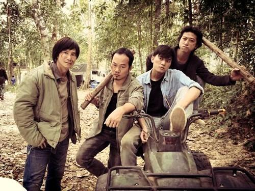 """truong giang """"lot xac"""" trong phim 10 ty dong cua ly hai - 1"""