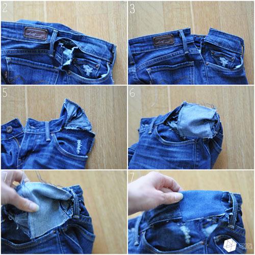 meo doi pho voi quan jeans bi chat va gian rong - 9
