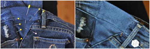 meo doi pho voi quan jeans bi chat va gian rong - 11
