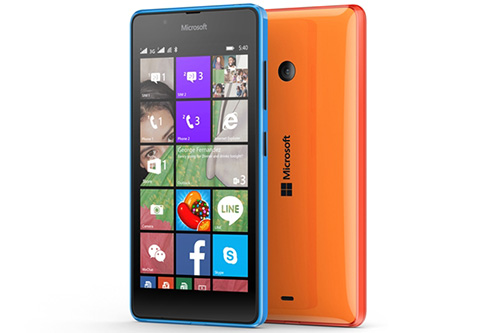 microsoft ra smartphone lumia 540 2 sim gia hon 3 trieu dong - 2