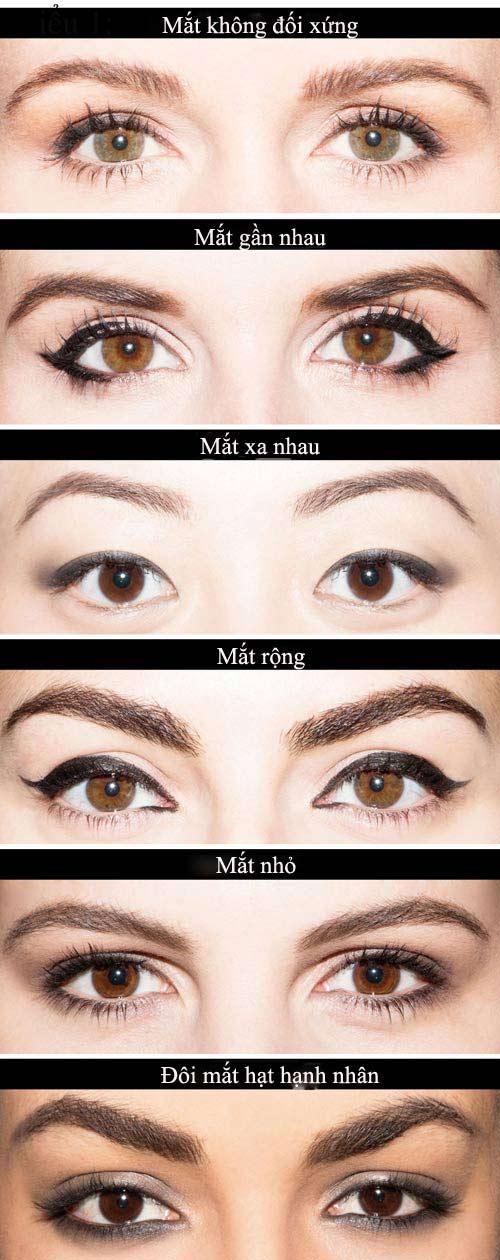chon phong cach ke eyeliner phu hop voi tung dang mat - 2