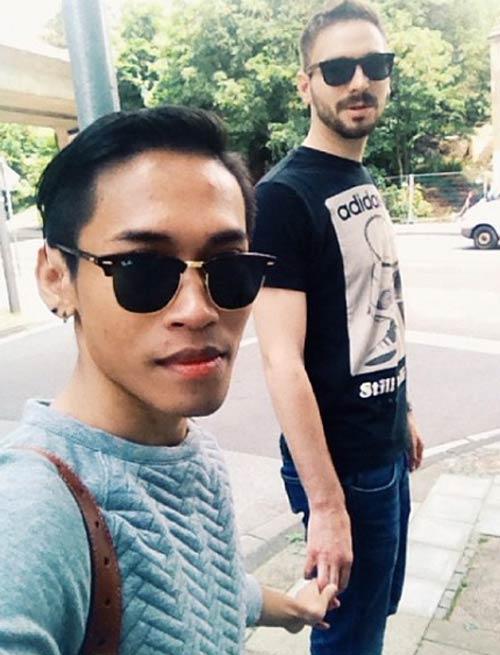 "cap doi dong tinh gay ""bao"" vi chenh lech ngoai hinh - 8"