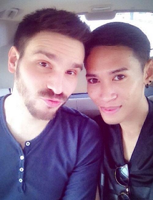 "cap doi dong tinh gay ""bao"" vi chenh lech ngoai hinh - 9"