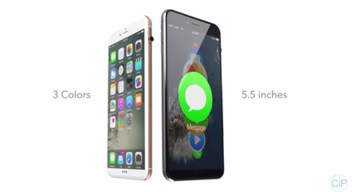 """y tuong iphone 7 """"di"""" voi nut vong xoay cua apple watch - 1"""