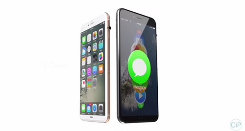 """y tuong iphone 7 """"di"""" voi nut vong xoay cua apple watch - 5"""