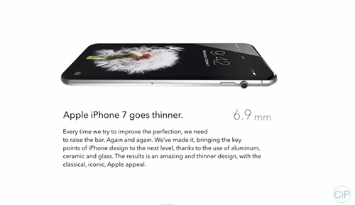 """y tuong iphone 7 """"di"""" voi nut vong xoay cua apple watch - 7"""